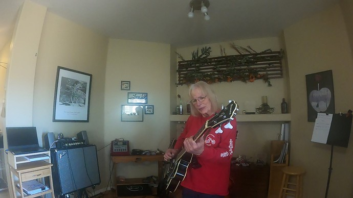Pam playing in music room2