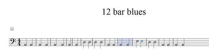12 bar blues in A minor