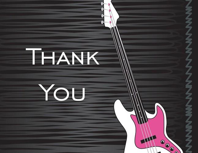 Bass Thank You