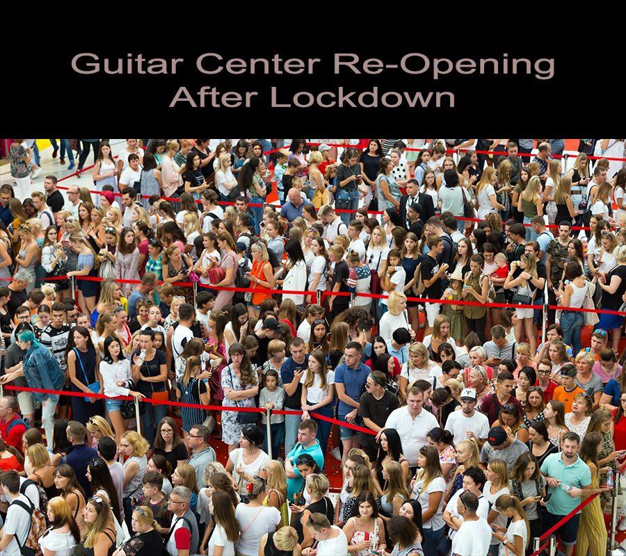 Guitar Center Reopening