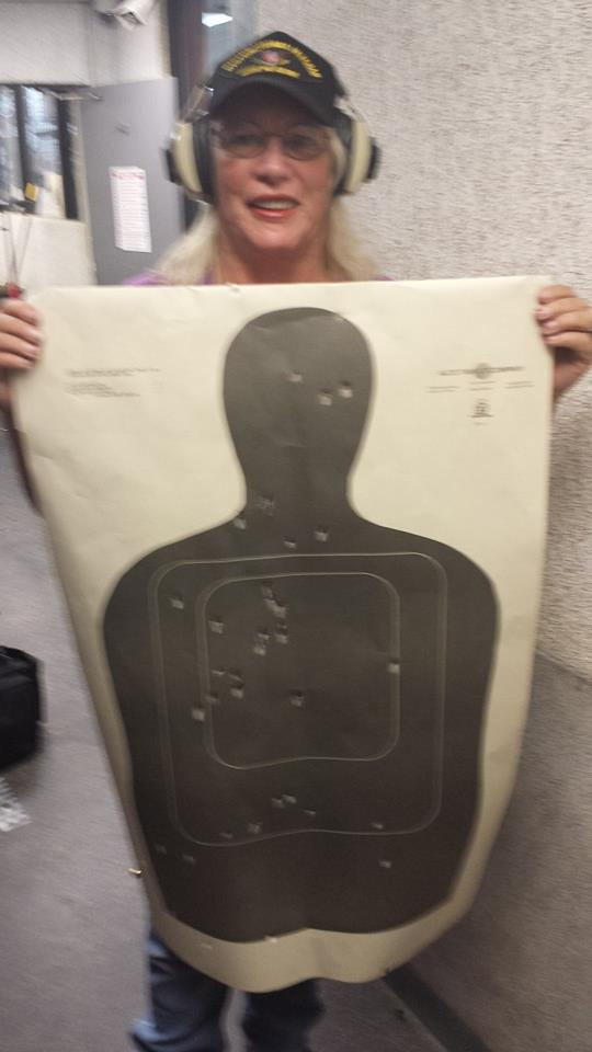 Pam with target
